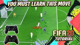YOU MUST LEARN THE NO.1 ATTACKING TRICK in FIFA 20 - BEST SKILL in FIFA 20 TUTORIAL
