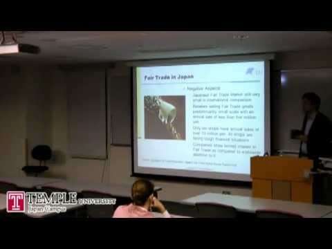 Public Lecture video (6.13.2012) : Is Ethical Consumption Going to Change Japan?