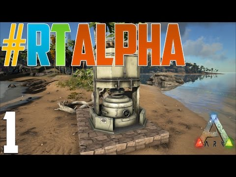 Ark PvP ROAD TO ALPHA! EP. 1 Industrial Forge ALREADY!?!?!
