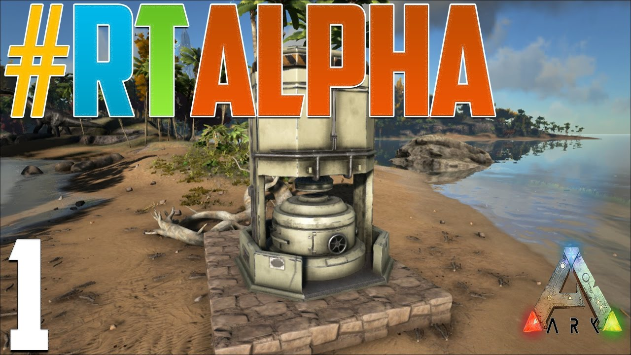 Ark pvp road to alpha ep 1 industrial forge already youtube malvernweather Image collections
