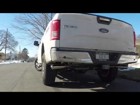 Flowmaster American Thunder On My 2015 Ford F-150 XLT