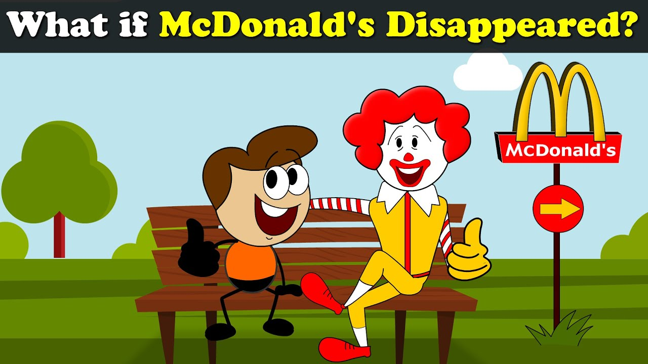 What if McDonald's Disappeared? | #aumsum #kids #science #education #children