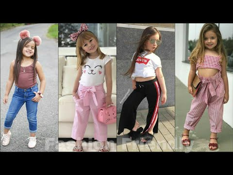 Kids girls dress design || Stylish outfit ideas for kids girls - Fashion Friendly