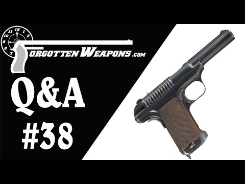 Q&A #38: Short-recoil SMGs and Kimber Model 1907 .45s
