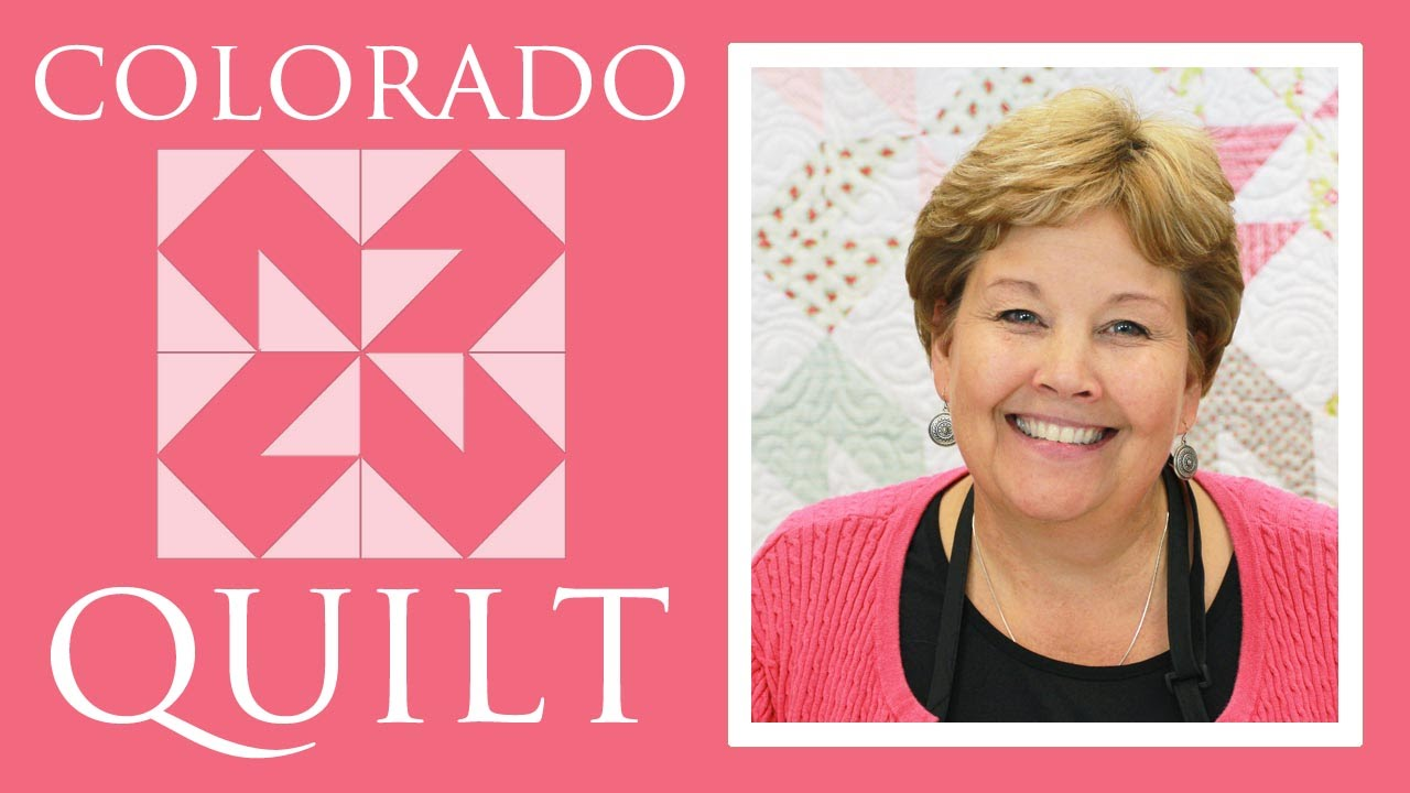 The Colorado Quilt Easy Quilting Tutorial With Jenny Doan