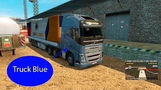 Truck Blue for kids #Truck #Toy #For kid