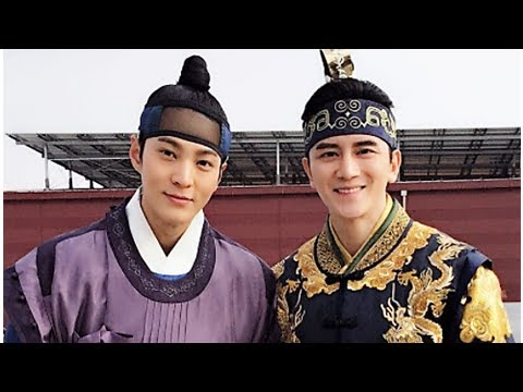 My Sassy Girl: New behind-the-scene photos from Chinese actor Kris Sun