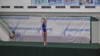 Чемпіонат України 2016. Соло. Довільна програма. Миколаївська область