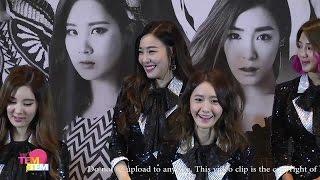 160131 GIRLS' GENERATION 4th TOUR - Phantasia - in Bangkok Press Conference