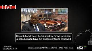 Former President Jacob Zuma ConCourt sentence review