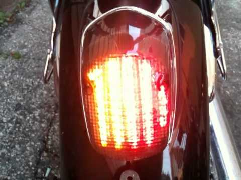 Honda Shadow Clear Alternatives Led Integrated Tail Light