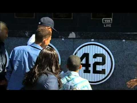 Mariano Rivera has his number retired in Monument Park