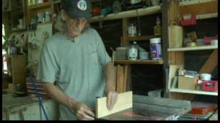 Making A Box Joint Jig : Marking A Box Joint Jig For Router Cuts