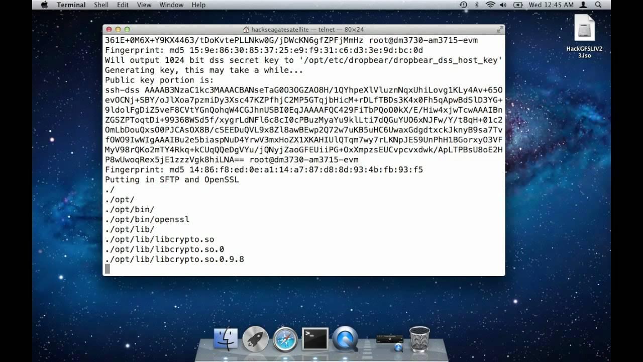 Version 23 Installation Using A Mac