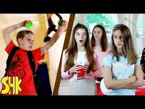 Noah's Perfect Party Battle! Sis vs Bro vs Friends | SuperHeroKids
