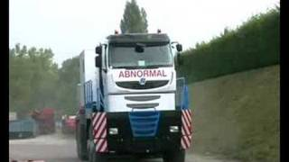 First drive of Tractomas, the world's biggest road truck