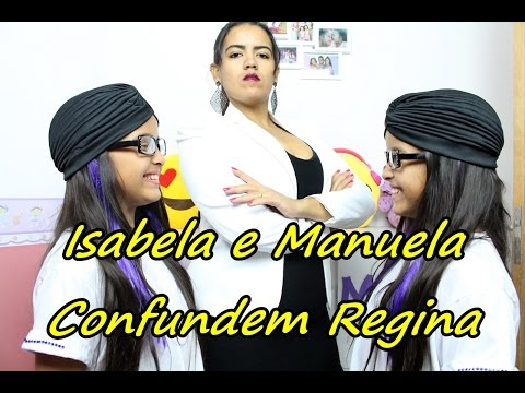 Accomplices of a rescue - Isabela and Manuela Regina confuse By Journal of the Twin