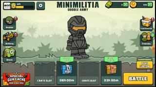 MINI MILITIA GAMEPLAY | MINI MILITIA SCAM | 3 FINGER CLOW |GPJ BOY'S screenshot 4
