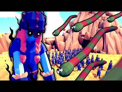 SECRET CAVE ZOMBIES Vs 1000 SNAKES - The ULTIMATE Battle In TOTALLY ACCURATE BATTLE SIMULATOR (TABS)