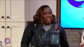 Sister Circle  Chef Erica Barrett  TVONE - Blackened Catfish and Garlic Parmesan Grits