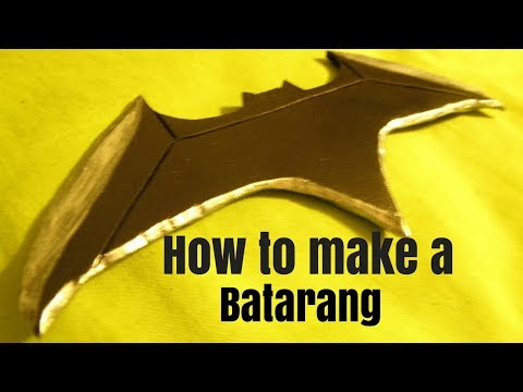 how to make a batarang from justice league free batarang template
