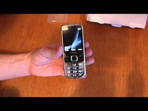 Распаковка посылки Nokia 6700 classic серебро, Венгрия