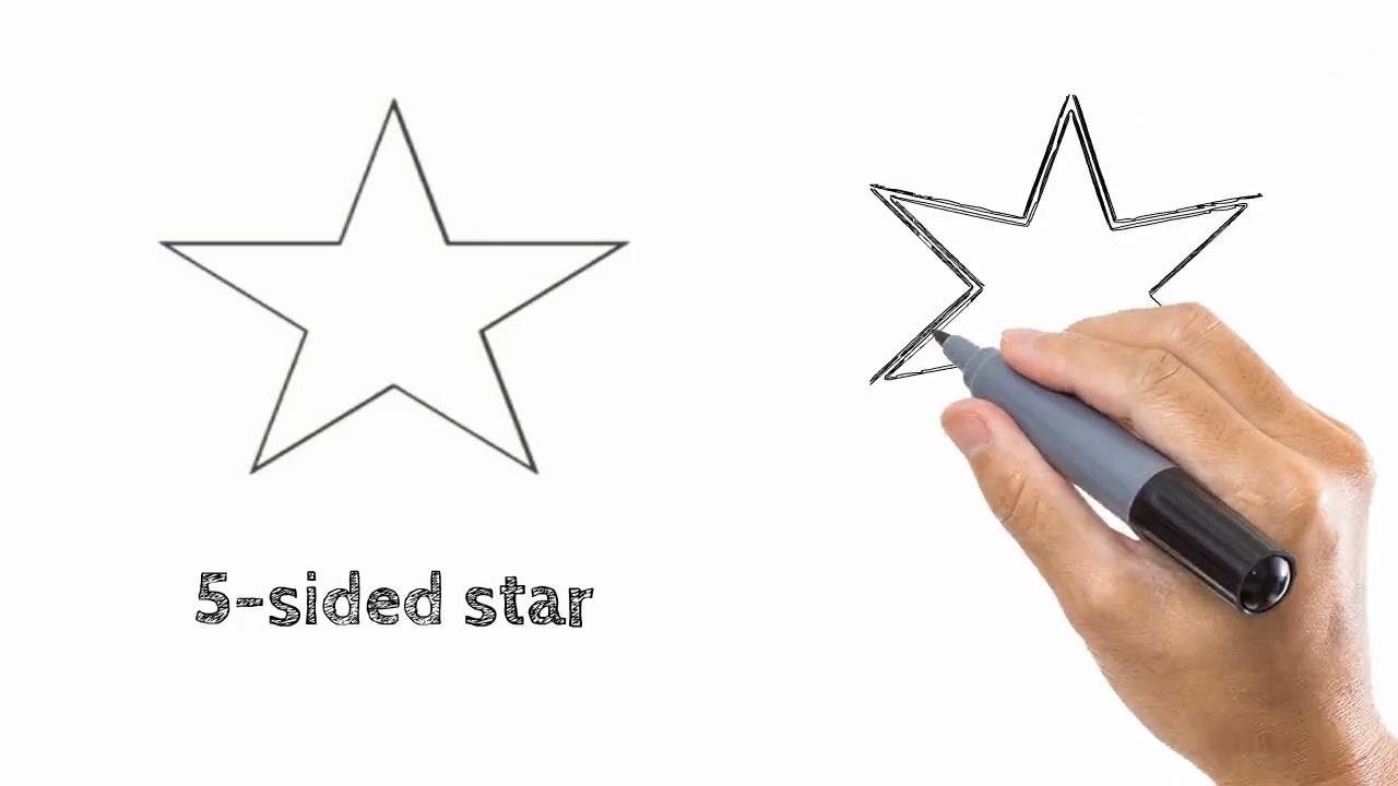 How to draw a star 70