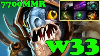 Dota 2 - w33 7700 MMR Plays Slark vol 5 - Ranked Match Gameplay
