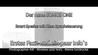 mqdefault - [Euronics] Sonos One Multiroom Streaming Lautsprecher Schwarz für nur 209€