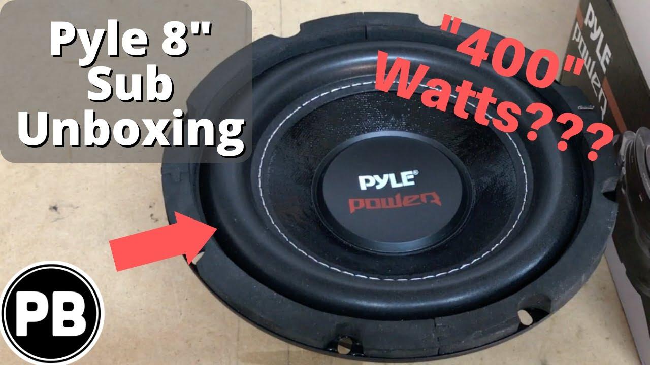 pyle 8 dvc subwoofer unboxing 400 watts rms plpw8d youtube rh youtube com pyle pro subwoofer pyle 10 subwoofer [ 1280 x 720 Pixel ]