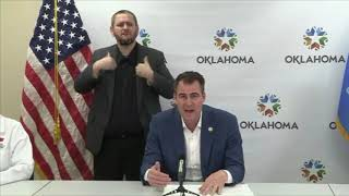 Governor Stitt extends executive orders to end of April