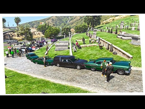 GTA 5 REAL LIFE    EP 1   EL FUNERAL DE FRANKLIN