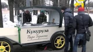 """Звезды """"Comedy Club"""", участники группы """"USB"""" в парке Горького"""