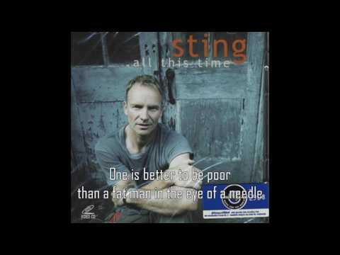 Sting - All This Time (Lyrics)