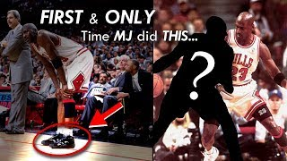 Michael Jordan SURPRISED This Player by Wearing his SHOES for one Game!