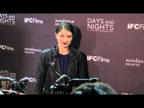 Eve Hewson at Days And Night New York Premiere