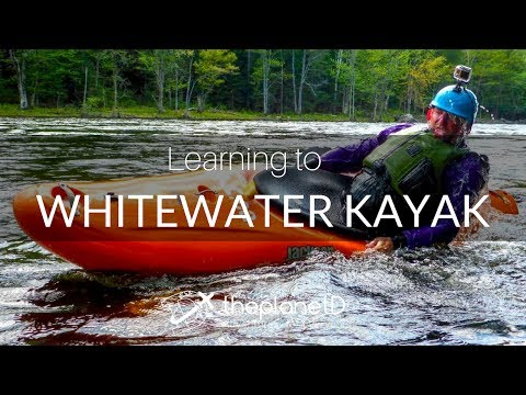 Learning to Whitewater Kayak with ThePlanetD