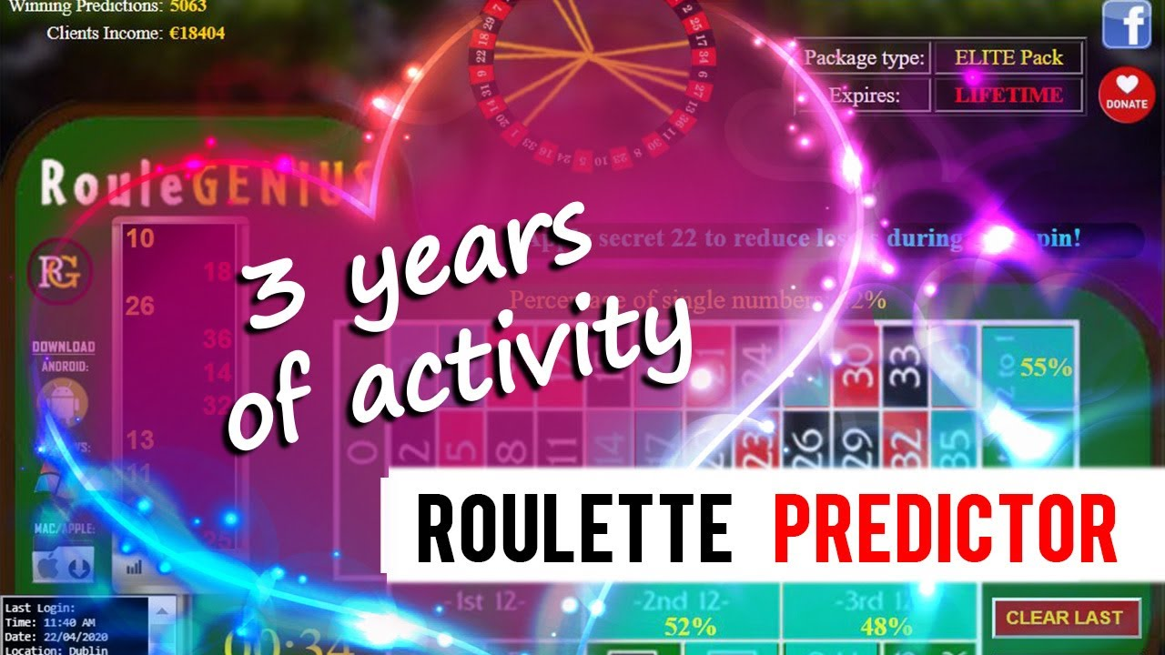Download Roulette Predictor: 3 Years of Activity (RouleGENIUS tribute video)