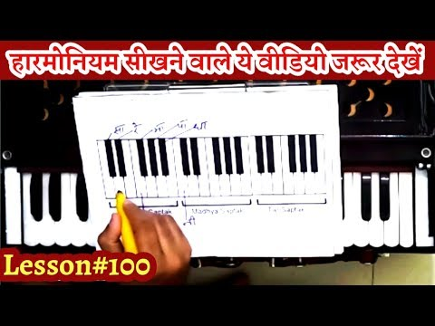 100  Basic Harmonium Concepts II Full Basic Knowledge for Begginners II Sur Sangam Bhajan