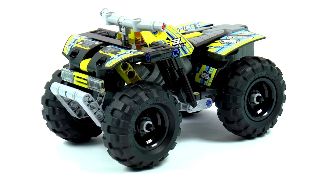 quad bike lego technic