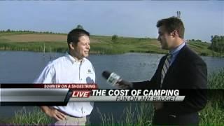 Camping in Eastern Iowa