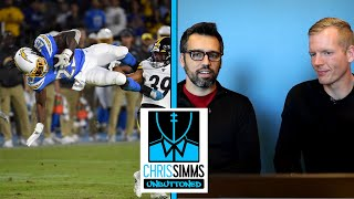 Melvin Gordon, Baker Mayfield lead Week 6 in NFL photos | Chris Simms Unbuttoned | NBC Sports