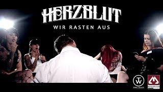 HERZBLUT - Wir Rasten Aus (2017) // Offizielles Video // MetalSpiesser Records