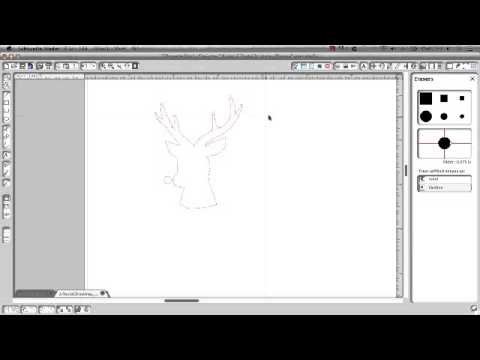 How to convert a PNG file in Silhouette...