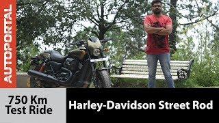 Harley-Davidson Street Rod - 750 kms Long Test Ride I Travelogue - Autoportal