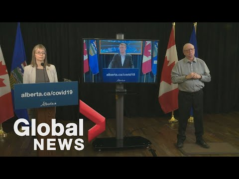 Coronavirus: New restrictions announced for Alberta as 860 COVID-19 cases, 10 deaths reported | FULL