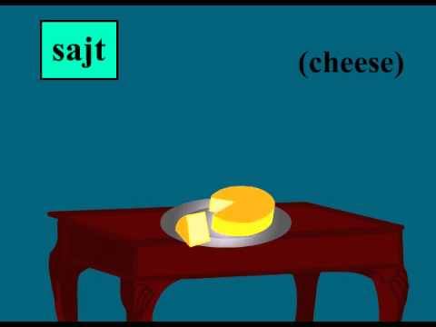 Learn Food Vocabulary In Hungarian