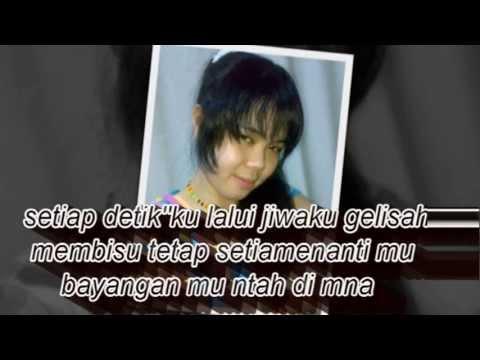 slow rock malaysia BLACKROSE penantian ( lirik )