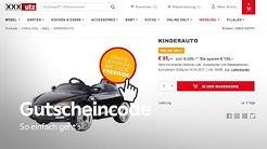 Gutscheincode online Einlösen - XXXLutz Service