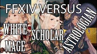 FFXIV: White Mage vs Scholar vs Astrologian (Healer VS)